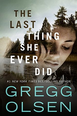 The Last Thing She Ever Did book cover