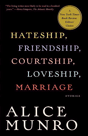 Hateship, Friendship_Courtship, Loveship, Marriage book cover