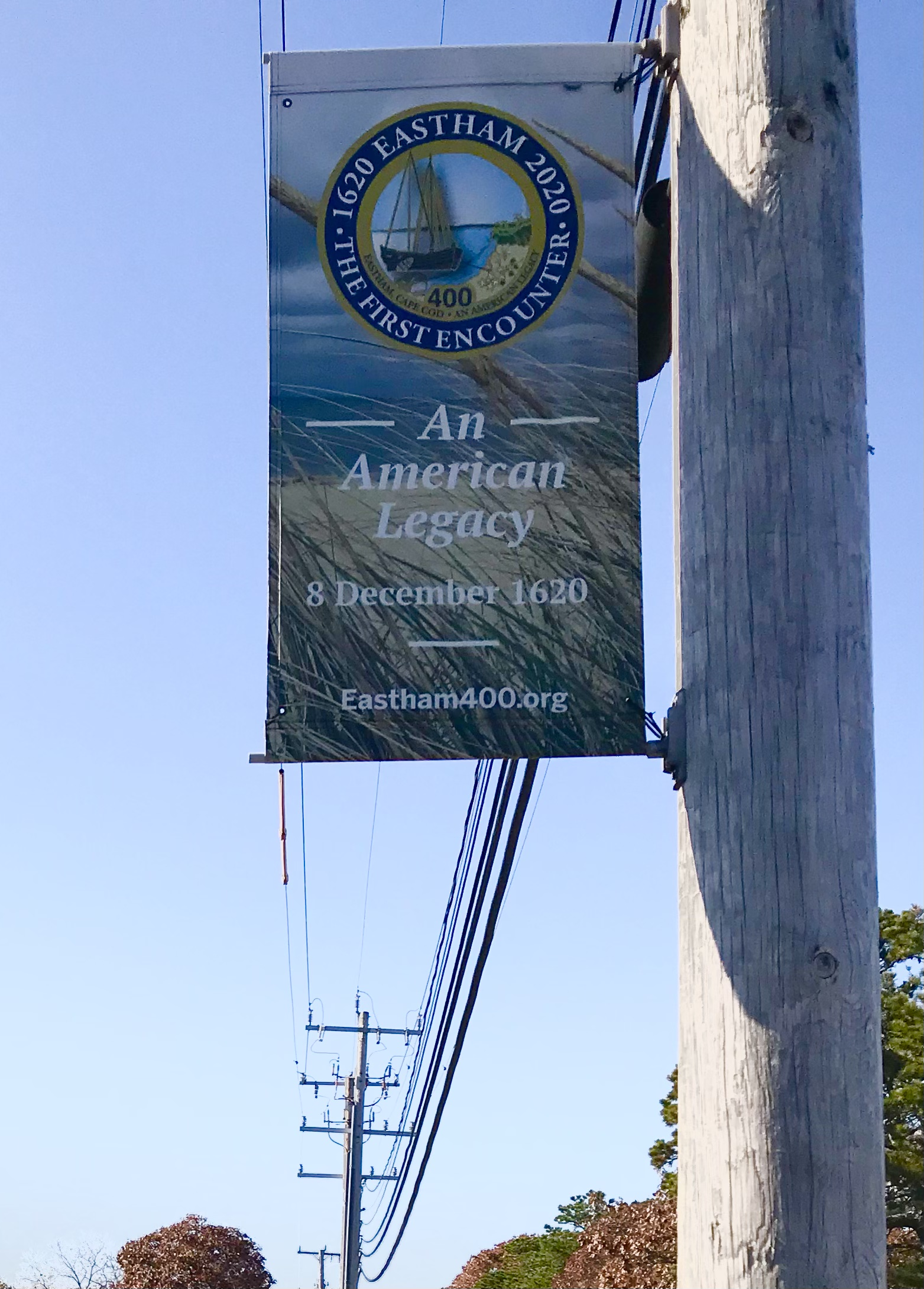 An American Legacy sign
