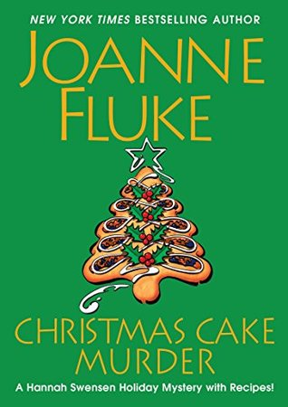 Christmas Cake Murder book cover