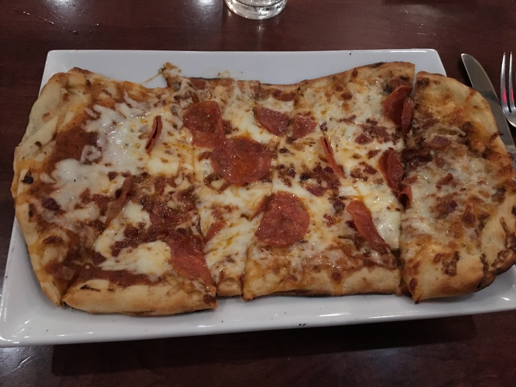 Pepperoni-Bacon-Flatbread