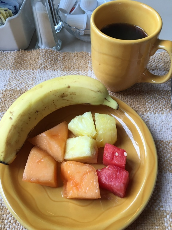 My fruit plate