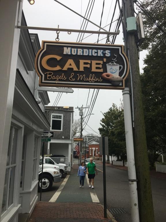 Murdick's Cafe sign